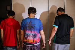پایان سرقت های سریالی از دانشجویان توسط باند تایسون