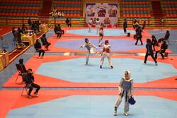 رقابت های تکواندوی بانوان کشور در تبریز برگزار شد