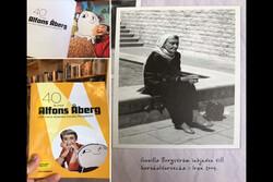 تصویری از خالق کتابهای کودک الفونس اوبری در تهران