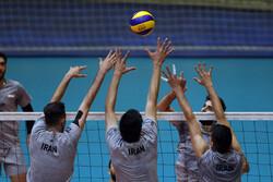 تمرین تیم ملی والیبال پیش از اعزام به مسابقات انتخابی المپیک