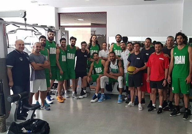 Iran's basketball wins intl. friendly tournament in Russia