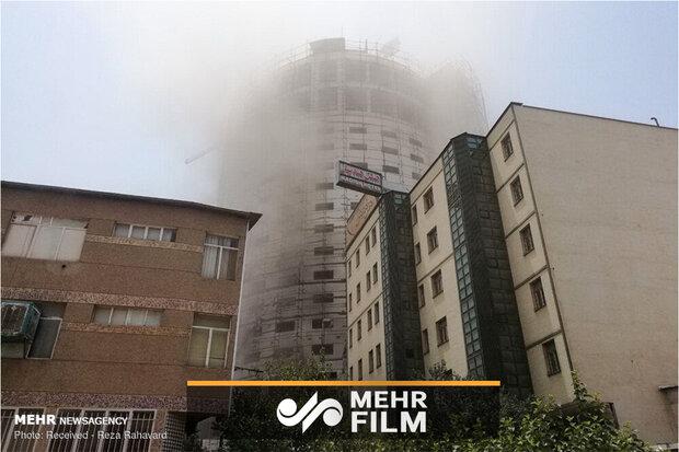 توضیحات آتشنشانی درباره مهار آتشسوزی هتل آسمان شیراز
