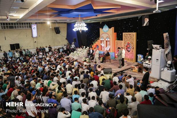 جشن هلهله فرشته ها به مناسبت سالروز ازدواج امام علی (ع) و حضرت زهرا(س) در قم