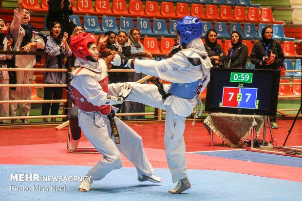 درخشش تکواندوکاران خراسان شمالی در مسابقات بسیج کشور