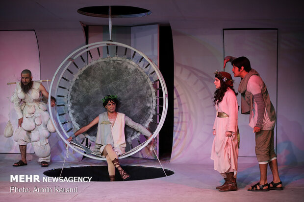 'A Midsummer Night's Dream' on stage in Tehran