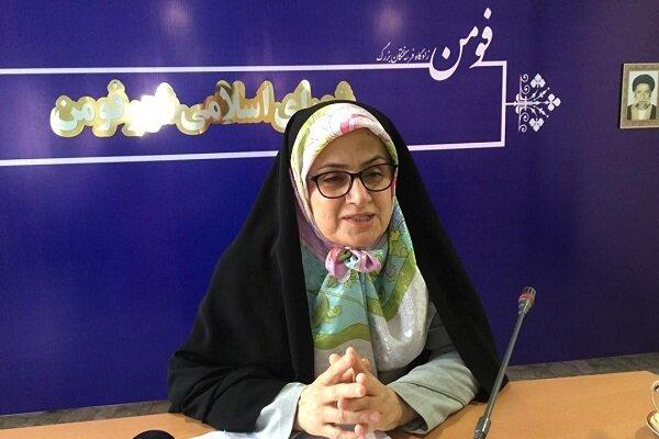 «زهرا نظری» رئیس شورای اسلامی شهر فومن شد