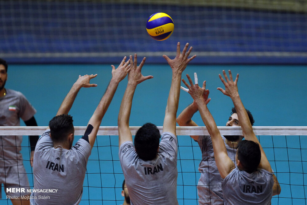 Iran Volleyball Squad Named For Asian Olympic Qualification Tournament Tehran Times