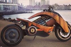 تولید موتورسیکلت برقی با چوب خمیده و سیستم هشدار