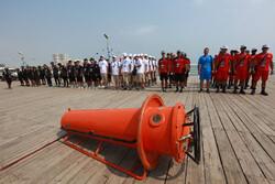 """المرحلة الاولى من مسابقات الغوص لجيوش العالم في جزيرة """"كيش"""" / صور"""