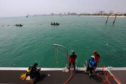 اولین روز از مسابقات غواصی ارتش های جهان