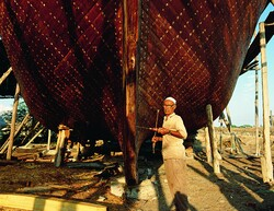 The ancient art of making ships in southern Iran