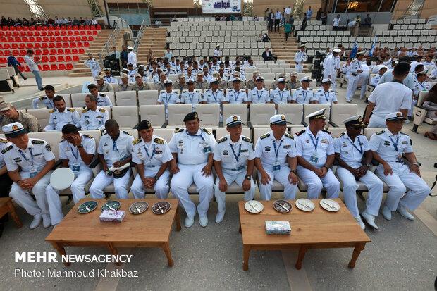 """افتتاحية العاب الغطس العميق لجيوش العالم  2019 في جزيرة """"كيش"""""""