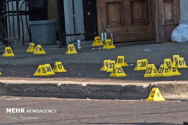 تیراندازی در خلیج مکزیک ۲۳ کشته و ۱۳ زخمی برجا گذاشت