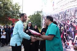 نشاط و شادابی ورزش صبحگاهی با دوشنبههای ورزشی در بوستان شقایق