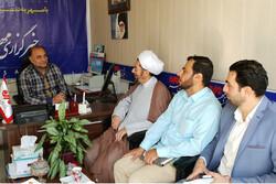 نماینده ولی فقیه در سپاه قزوین از خبرگزاری مهر بازدید کرد
