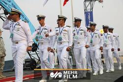 آئین افتتاحیه چهارمین دوره مسابقات غواصی عمق نظامی ارتشهای جهان