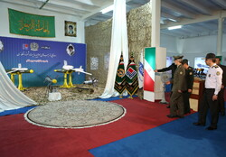 Iran Defense Ministry unveils UCAV precise guided bombs, missiles