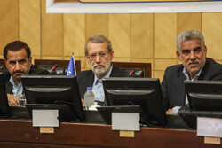 ایرانی پارلیمنٹ کے اسپیکر کی ذرائع ابلاغ سے ملاقات