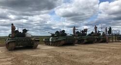 ايران تتبوأ المركز الثاني في مسابقات بياتلون الدبابات بروسيا