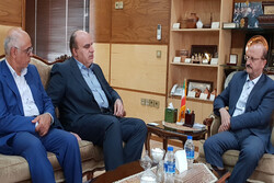 رئیس صندوق بیمه روستاییان کشور با استاندار قزوین دیدار کرد