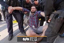 آسٹریلیا میں درجنوں مظاہرین گرفتار