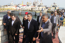 Visit of road minister to Hormozgan province