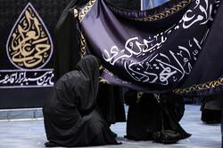 مراسم إزاحة الستار عن راية قبّة السيدة زينب (س) / صور