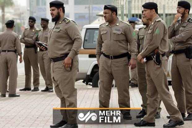 Suudi Arabistan polisinden kadına şiddet