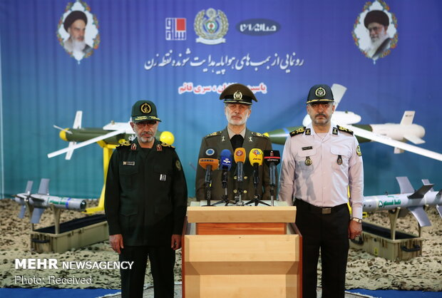Iran unveils guided bombs, ballistic missiles with pinpoint precision