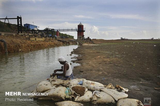 آبرسانی با قطار در هند
