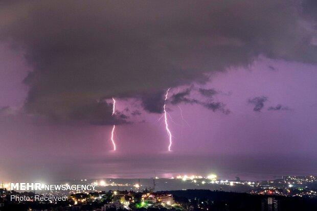 طوفان و رعد و برق در کشورهای مختلف
