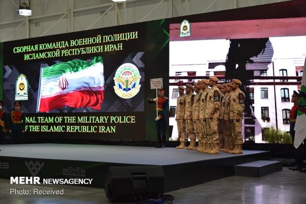 Iran's police attend annual intl. war games in Russia
