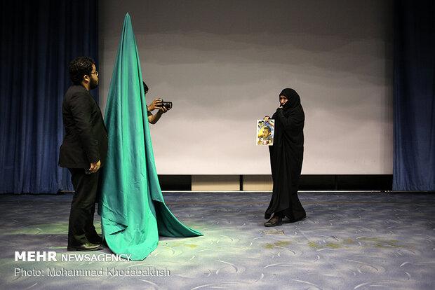 مراسم إزاحة الستار عن راية قبّة السيدة زينب (س)