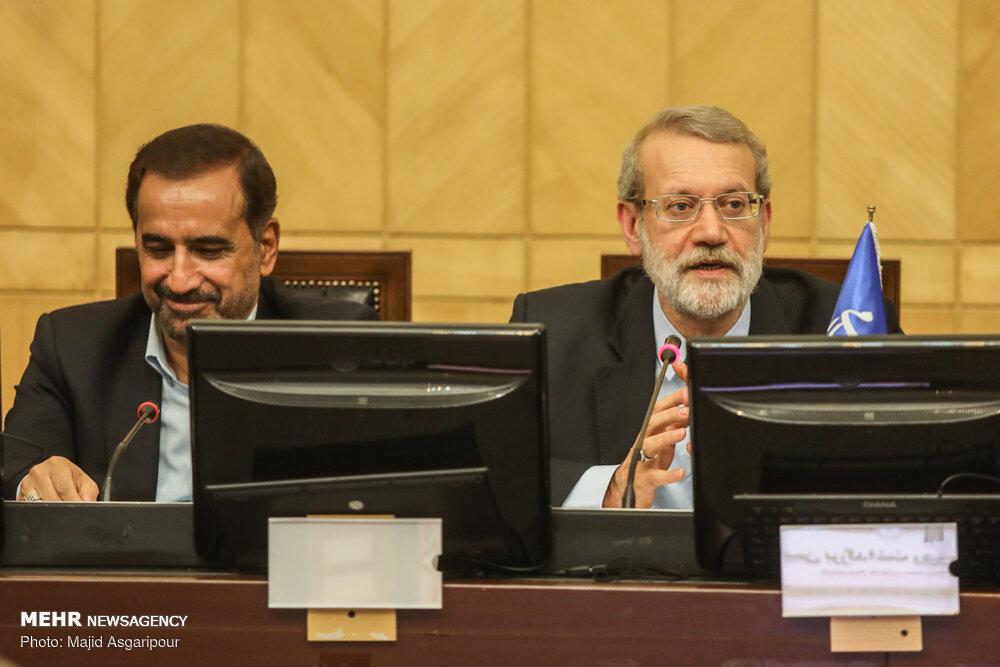 دیدار رئیس مجلس شورای اسلامی با اصحاب رسانه