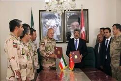 تفاهم نامه همکاری مرزی بین ایران و ترکیه امضا شد