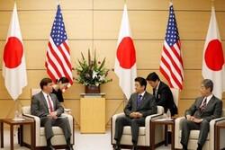 ژاپن: صحبت «آبه» و «اسپر» به ائتلاف خلیجفارس نکشید