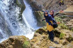 İran'da göz kamaştırıcı şelale