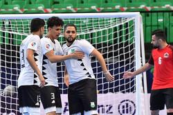 گلزنی بازیکنان ایرانی در دیدار نخست فوتسال جام باشگاههای آسیا