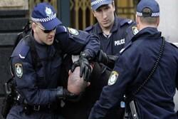 إعتقال مئآت المعترضين على التغيرات الإقليمية في أستراليا