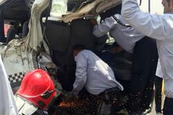 سوانح رانندگی در قزوین  ۲ کشته و یک مصدوم بر جای گذاشت