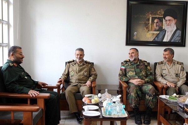 دیدار سرلشکر موسوی با رئیس سازمان بسیج مستضعفین
