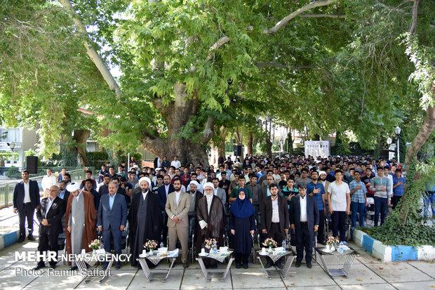 افتتاحیه سومین دوره اردوهای نخبگانی هفت روز در بهشت