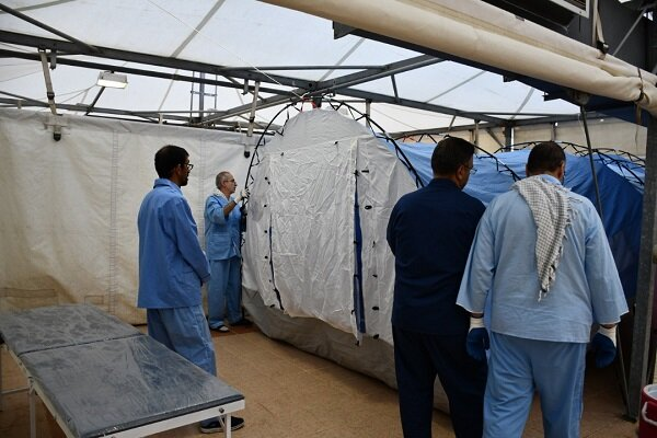 معاون عملیات حج ۹۸ در مرکز پزشکی اعلام کرد راه اندازی تونل هوای سرد در منا و عرفات