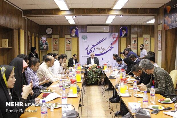 نشست خبری دبیرکل حزب مؤتلفه اسلامی