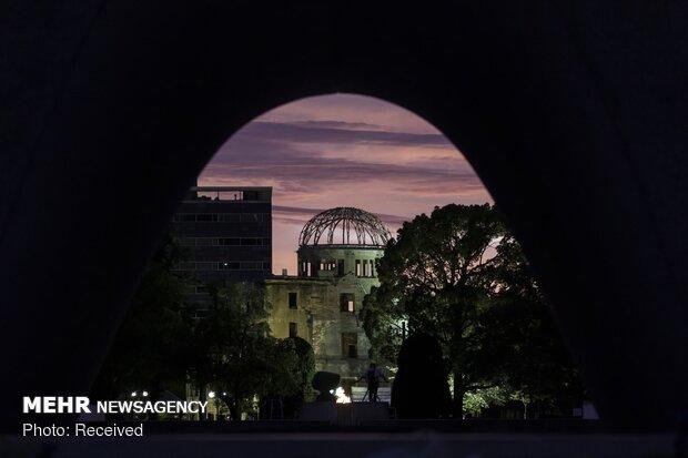 گرامیداشت یاد قربانیان جنایت هیروشیما