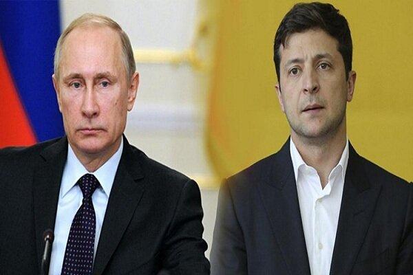 التماس رئیس جمهوری اوکراین به پوتین