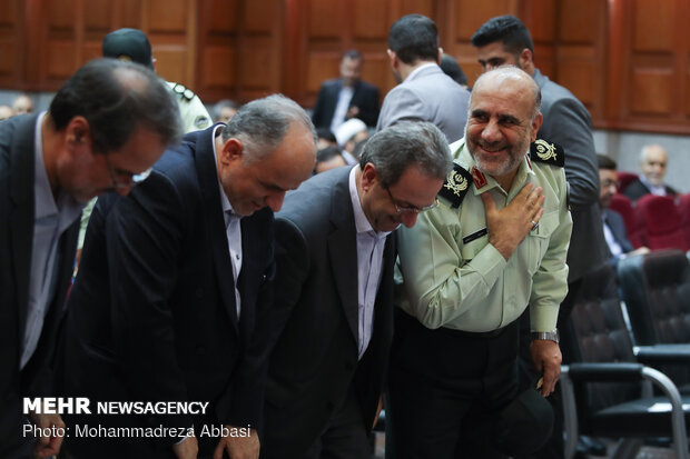 مراسم تودیع و معارفه رئیس دادگستری استان تهران