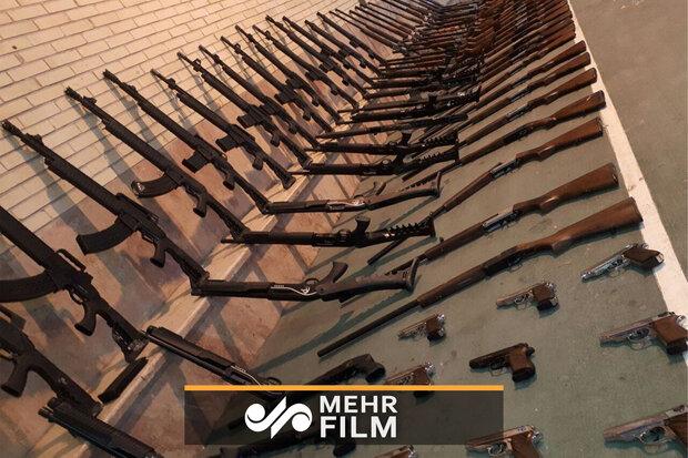 ملک کے شمال مغربی علاقہ سے 200 شکاری بندوقیں برآمد