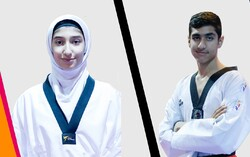 Iranian teen snatches gold at World Taekwondo C'ship