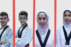 2 golds, 2 bronzes for Iranian teens on day two of World Taekwondo C'ship